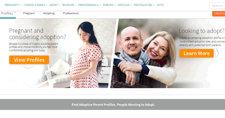 The Best Adoption Profile Site Out There - Adoption Sites | Websites
